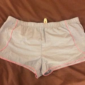 Victoria's Secret sleep shorts